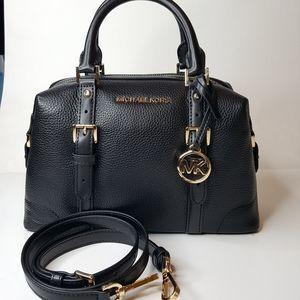 Michael Kors leather cross body handbag.